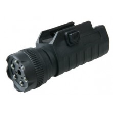 Tactical light/laser w. mount
